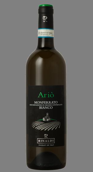 Vino Sauvignon Blanc Monferrato Bianco Doc Ariò, Rinaldi