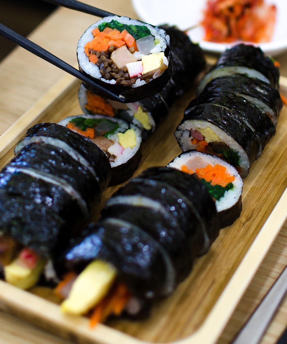 abbinamento con il sushi