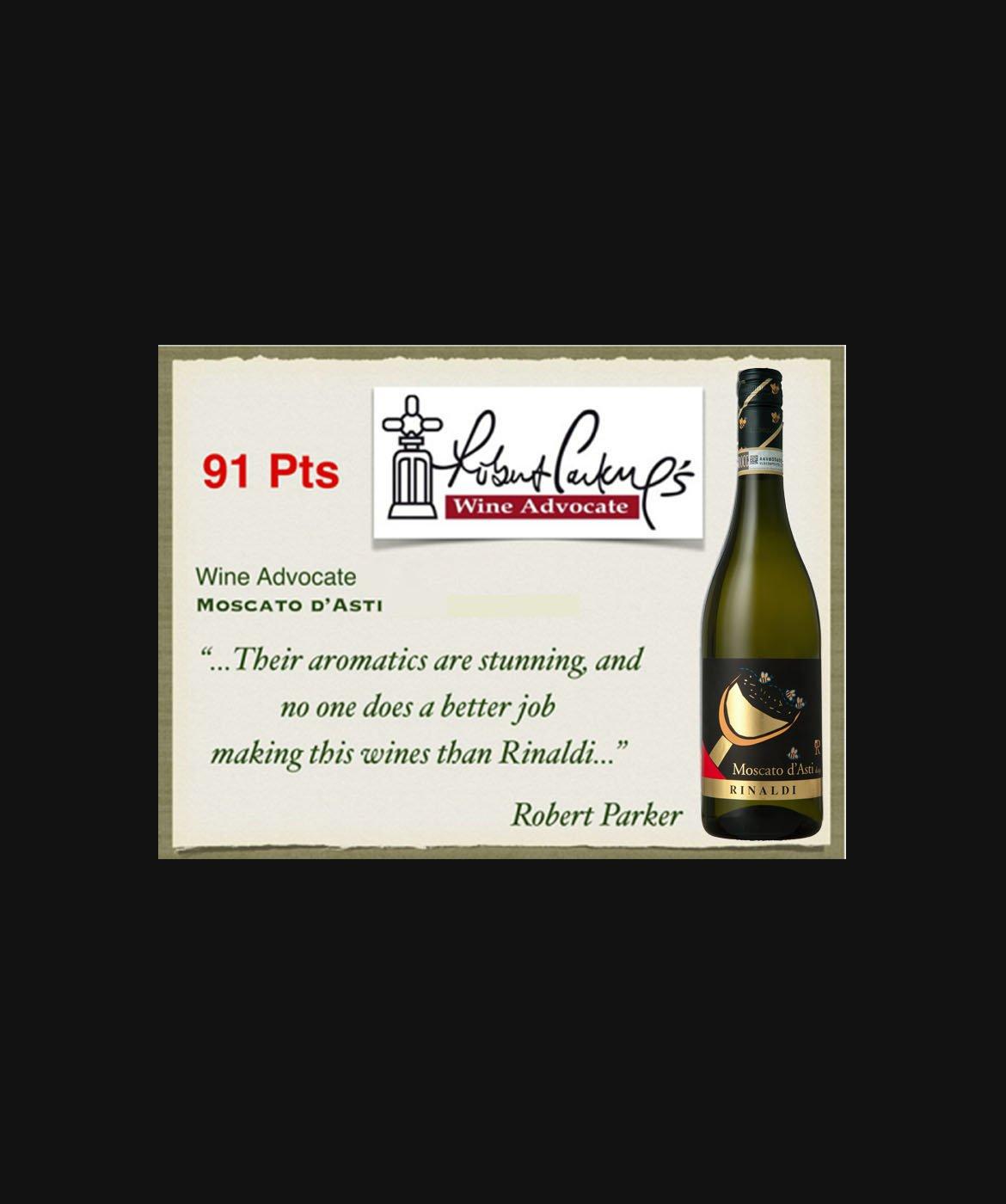 Moscato d'Asti 91 punti Wine Advocate