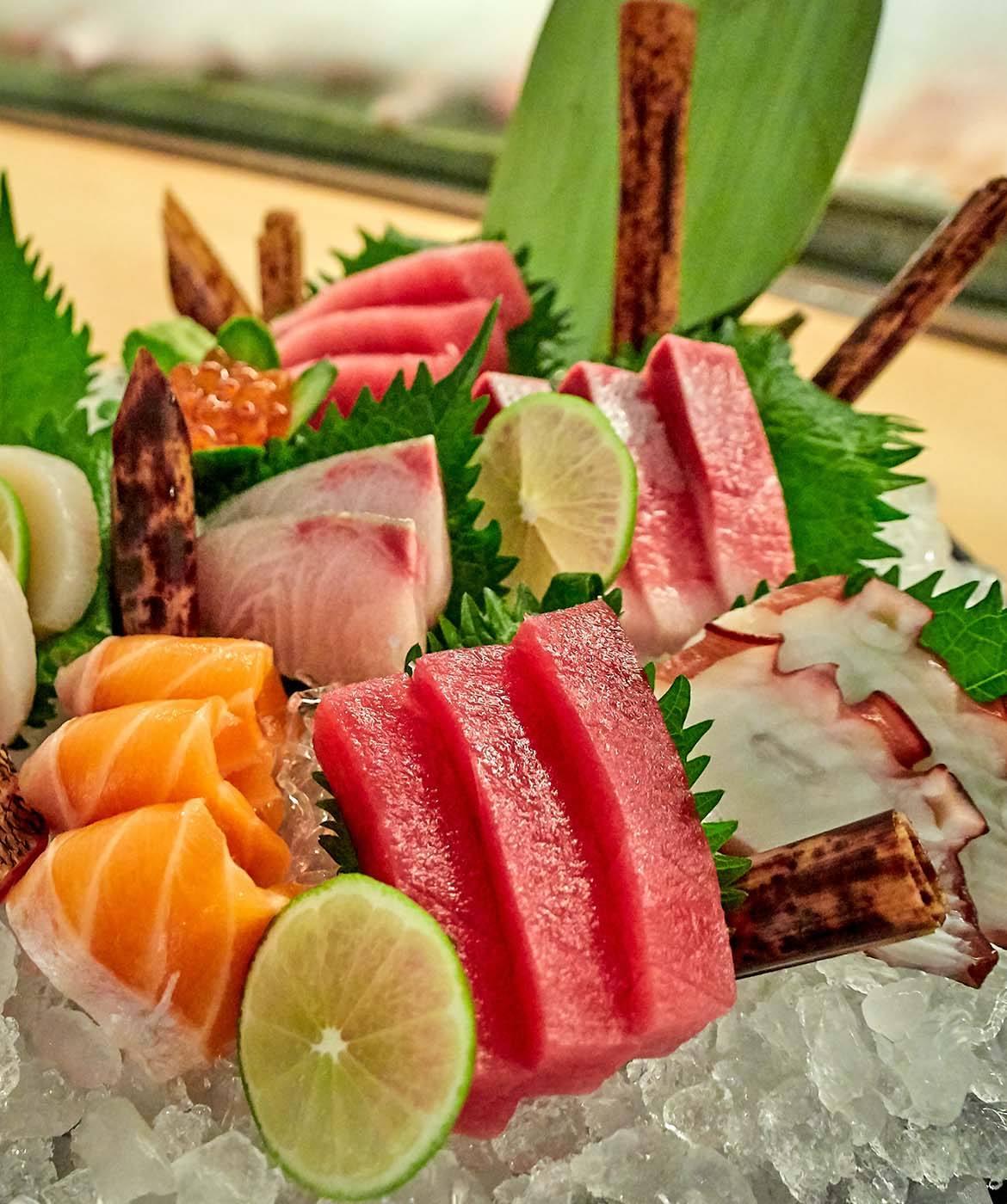 abbinamento con il pesce crudo