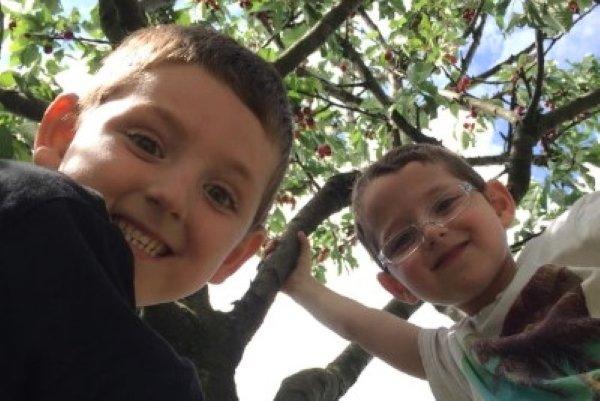 Andrea and Anna Rinaldi's children
