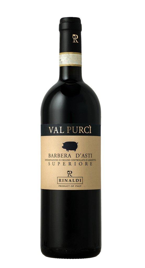vino tinto de Italia, barbera asti val purcì